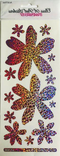 Stampendous Class A-Peel Stickers Jumbo Damask Holographic P