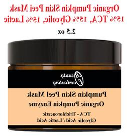 organic pumpkin enzyme mask peel 15 percent